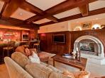 A beautiful and luxurious vacation vacation residence at One Willow Bridge Road along Gore Creek.