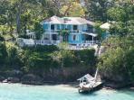 Oceanfront Scotch on the Rocks- private cove, pool- jetted tub & gardens