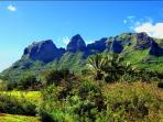 Beautiful Kong Mountain in nearby Anahola.