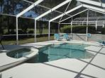 S/W Facing Pool & Spa overlooking the gorgeous Golf course