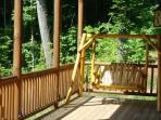 Rock Your Cares Away on the Porch Swing