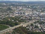 Aerial View of San Juan.  Where had you rather be?  Rincon or San Juan?