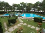 Residence Cristallo with two swimming pools & A/C