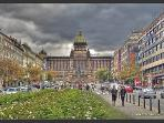 Our Apartment located just off National Museum on the top of Wenceslas Square.