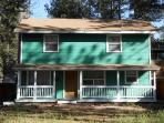 Great Tahoe cabin with newer furniture, big front yard, close to casino`s and gondola