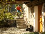 Ride straight from your doorstep,  Finale Ligure