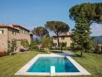 Villa Laura- set for the film 'Under the Tuscan Sun' - travertine pool, jacuzzi & countryside views
