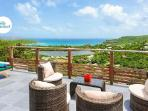 Brand new Villa Adamas with amazing ocean views and terrace with pool