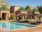 Villa with a typical moroccan architecture