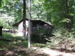 One bedroom cabin secluded in the woods