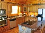 The Gorgeous Kitchen with Stainless Steel Appliances