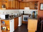 Fully equipped kitchen,electric oven,dishwasher,microwave,kettle,toaster,coffee maker etc