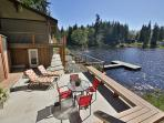 Inviting, Lakefront, modern home with impeccable views! 3 Bedrooms-Langley