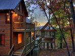 Breathtaking Cabin - Long Range View- Hot Tub- Game Room- 3 bedrooms