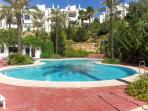 Spacious apartment in the Alhaurin Golf Resort with mountain views and large pool