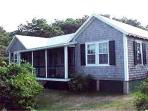 CHAPPY COTTAGE WITH SPECTACULAR VIEWS OF EDGARTOWN HARBOR & LIGHTHOUSE