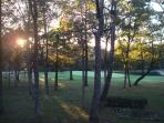 cooler on plateau -  golf and tennis resort