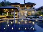 EMERALD: 7 Bedroom, Private Pool Villa, near Beach