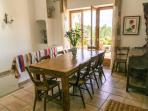 The dining room - if you must eat inside!