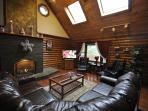 Great Lodge by Water on Private 3 Acres W/Firepit