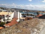 View of Lagos marina  from the town roof top