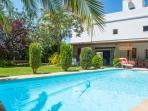 Beautiful villa with chill-out area, BBQ, garden,
