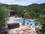 Villa private heated swimming pool palombagia 3mn