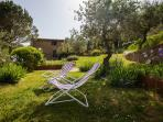 A peaceful retreat in the garden