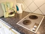 Full equipped kitchen / Kettle, coffee machine