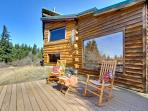 Authentic cabin with modern amenities on five acres!