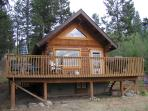 Okanagan cabin retreat & private lakeview property