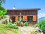 Splendid chalet near Mont Blanc with terrace and breathtaking views of the French Alps – sleeps 12