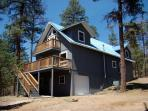Yes, Deer's a fabulous four bedroom, pet friendly home with a hot tub.