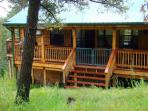 Garey's Deer Haven  is a 3 bedroom 2 bath piece of paradise north of Ruidoso.