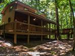 MOUNTAIN HAVEN- WOODED CABIN SLEEPS 6, SITS ON 2.8 ACRES, SEASONAL MOUNTAIN VIEWS, INDIAN BENT TRESS ON PROPERTY, KING BED IN MASTER SUIT, HIGH SPEED INTERNET, HOT TUB, CHARCOAL GRILL, WOOD BURNING FIREPLACE, AND A FIRE PIT! ONLY $99 A NIGHT!