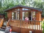 Luxury Deluxe Lodge with Hot Tub in Perthshire