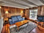 The Upstairs Loft has a Queen Sleeper Sofa with Ocean view!