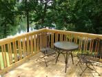 Private Deck off King Bedroom