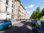 Victorian apartment  ins the centre. Great views
