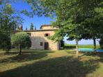Peaceful location, 20kms from Siena, 40kms from Florence and San Gimignano