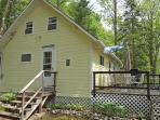 THE BAXTER | JEFFERSON MAINE | DAMARISCOTTA LAKE | LAKE SIDE | OPEN DECK | INCREDIBLE VIEWS