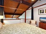 Upstairs master suite with king bed