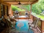 Comfortable Seating Everywhere - Porch, Dedicated Dock