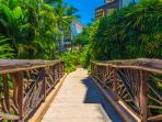 Beautiful Gardens and Walkways with Brightly Colored Flowers Throughout Wailea Beach Villas