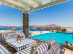 Michaela Residence - Villa on hilltop with amazing views, infinity pool & playful character