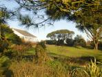 St Davids holiday bungalow with garden and pets welcome