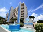 Ocean Sands 908 - 9th Floor Corner Condo with Gulf front Balcony & Free WiFi!
