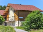 Modern apartment in the Vosges w/ central heating & mountain-view terrace, near ski & Longemer Lake
