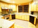 top end appliances in this kitchen make it easy to cook the perfect meal in