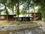 River Bend Lodge is a five bedroom located right on the Rio Ruidoso.